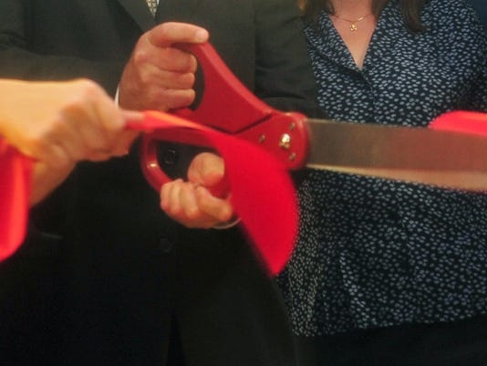 Ribbon cutting webart
