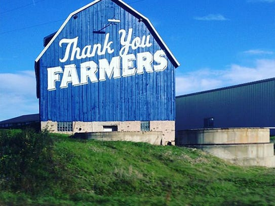 Culver's thanks farmers.