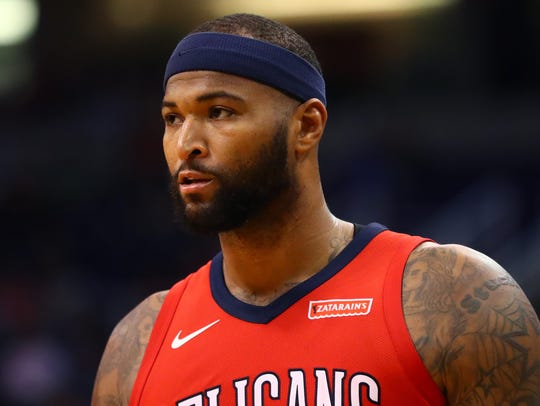 Pelicans center DeMarcus Cousins has offered to pay