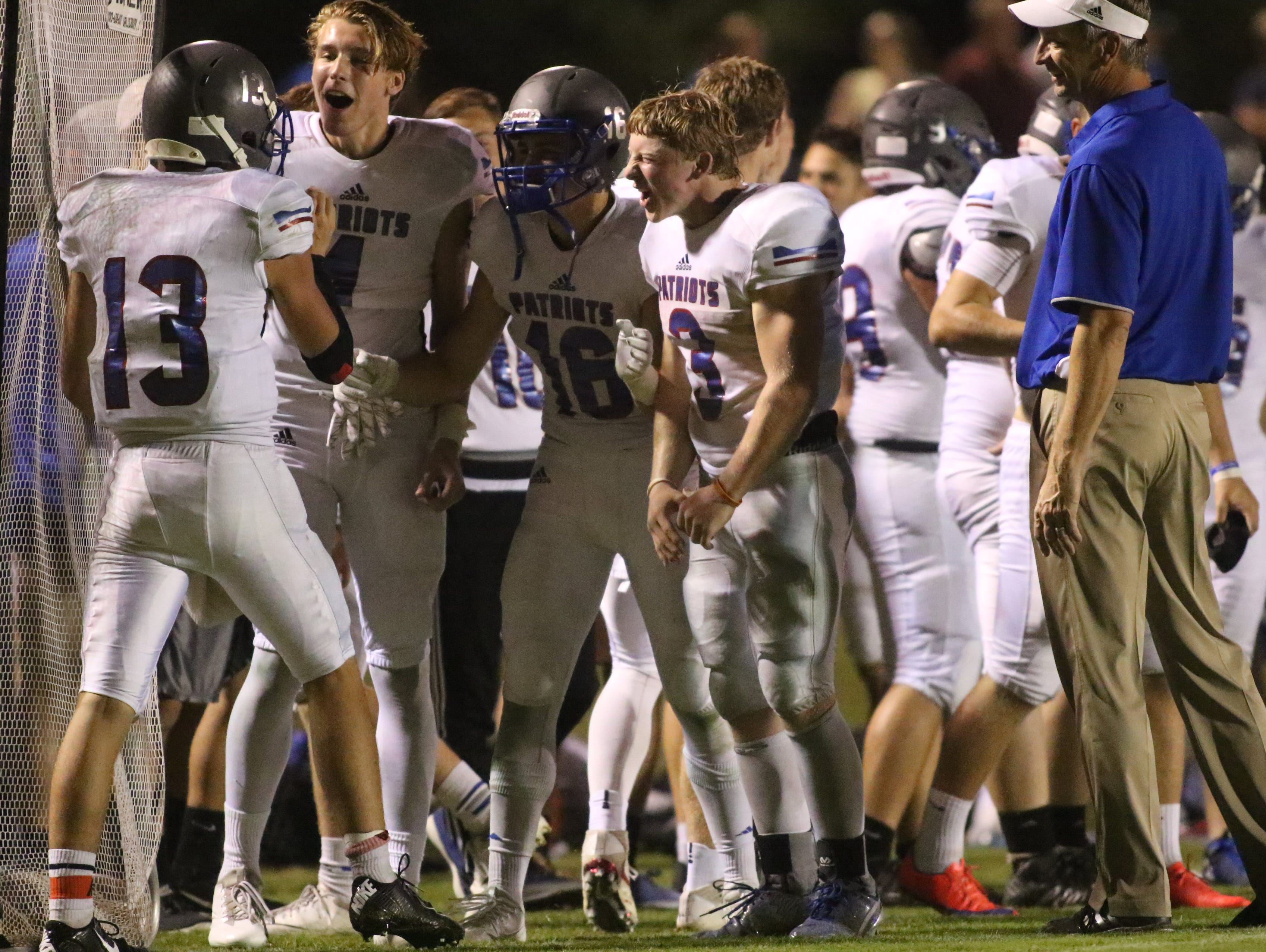 A late field goal gave Page a 38-35 victory over Giles County last Friday.