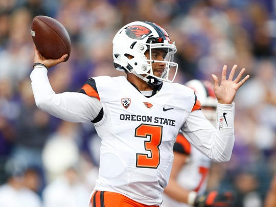 OSU quarterback Marcus McMaryion passed for 1,286 yards and 10 touchdowns with five interceptions last season.