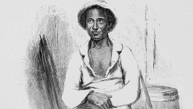 This is an image of Solomon Northup, circa 1853, from his book.