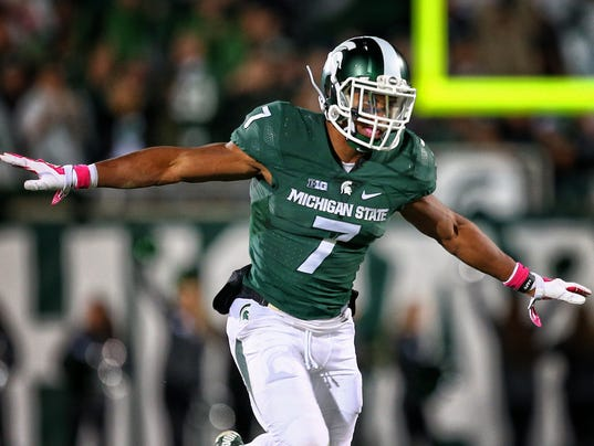 Image result for demetrious cox michigan state