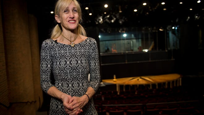 """Orange Is the New Black"" actress and UT alumna Constance Shulman visited the University of Tennessee to teach two theater master classes on Tuesday, March 28, 2017."