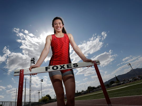 Jefferson senior Priscilla Tubbs will compete in the 300-meter hurdles at the Class 5A state track and field meet Friday in Austin.