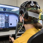 Navy researchers study pilot brain waves to help them avoid deadly hypoxia episodes