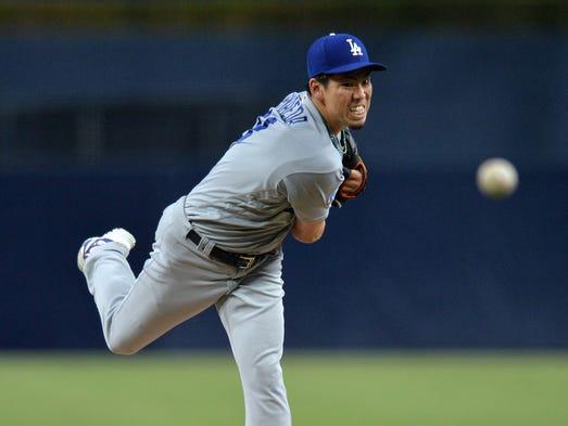April 18: Kenta Maeda, Dodgers, 10 vs. Padres.