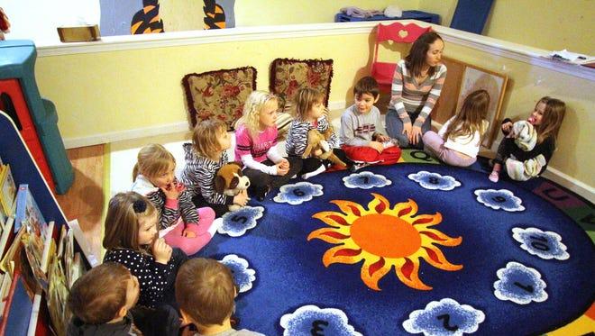 A preschool in Pinckney, Mich.