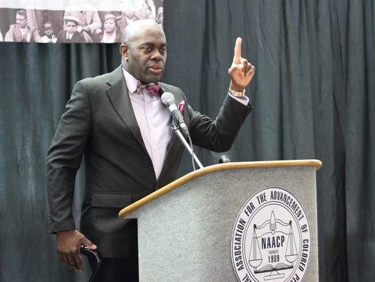 Terry Mills, Branch President for the National Association