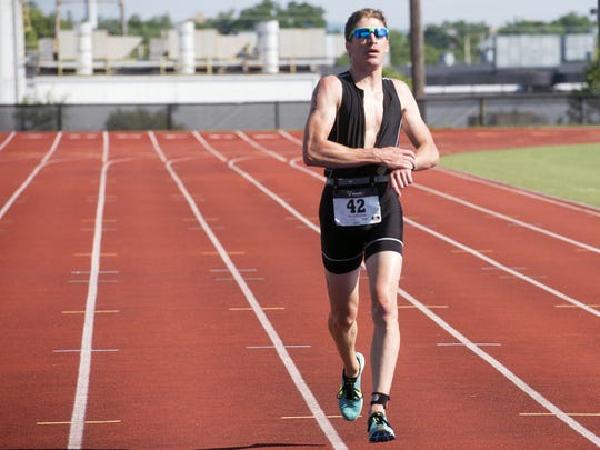 Peter LoBianco was one of about 50 men who participated in the previously female-only Y-Tri sprint triathlon in 2016 This year, the race is not happening.