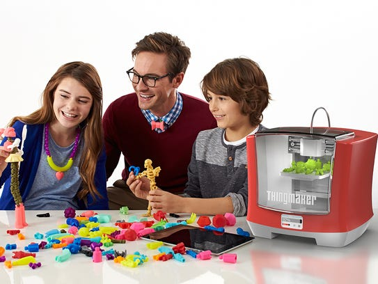 Mattel's new 3D printing device is due out in the fall.