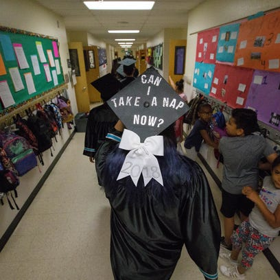Jenisa Tilley, 17, a graduating senior from Oñate High