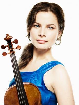 Violinist Bella Hristova will perform Beethoven's Violin Concerto on Feb. 13.