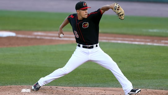 Jose Berrios took a no-hitter into the seventh inning