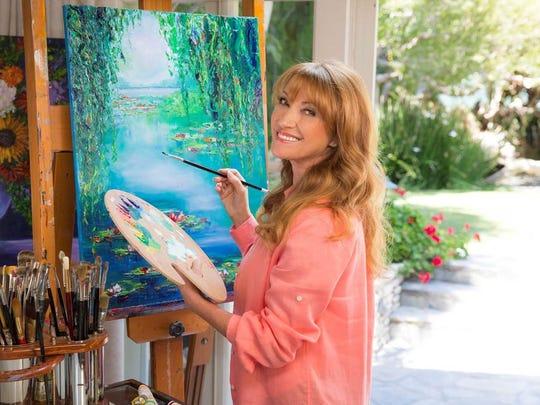 Actress Jane Seymour also is an artist. Her work will