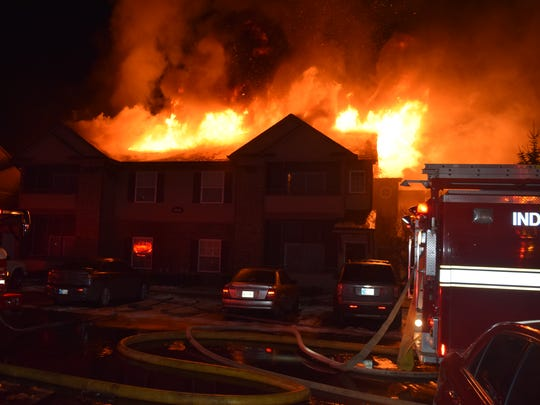 The fire, believed to have been caused by a man and a woman smoking on a second-floor balcony, caused an estimated $500,000 worth of damage. No one was injured, but two cats did die in the blaze.