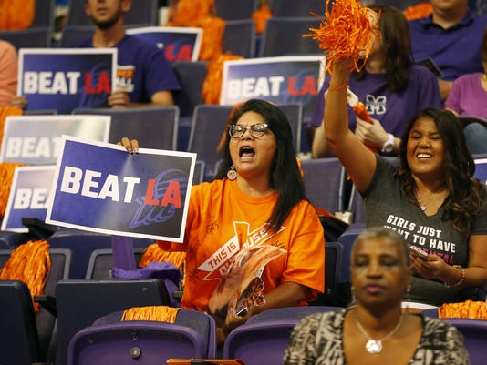 Game 3 WNBA playoff semifinals