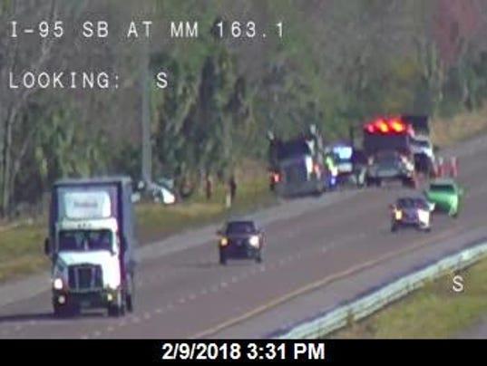 Fatal crash on Interstate 95