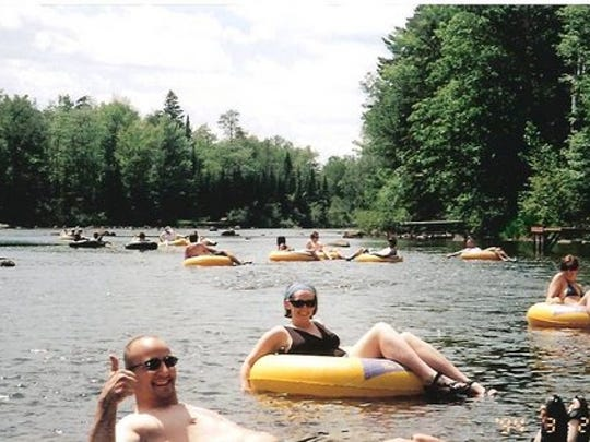 The Hawks Nest Canoe Outfitters has provided tubing