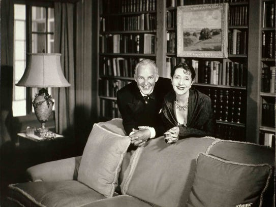 Alfred Lunt and Lynn Fontanne were married for 55 years