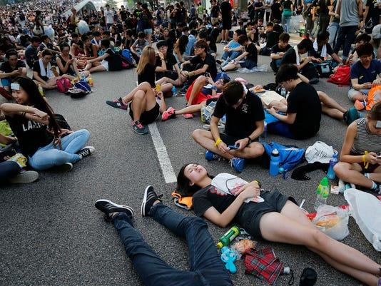 AP Hong Kong Democracy Protest