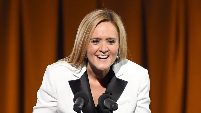 """Trump was right,""Samantha Bee conceded Wednesday night. ""He really does have the best words."""