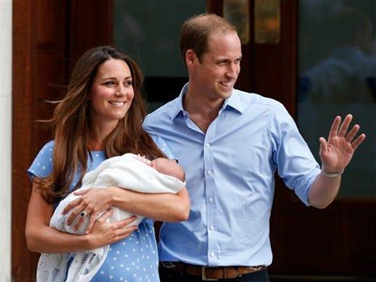 Britain Royal Baby_Ciur