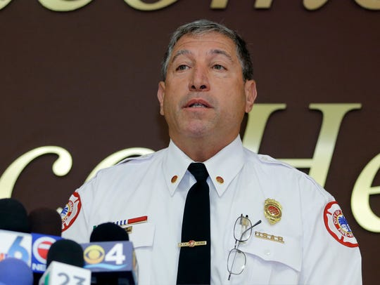Craig Radelman, Miami deputy fire chief for operations,