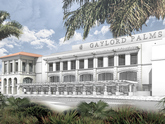 Rendering of Gaylord Palms Resort & Convention Center