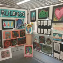 Art displayed at NM state fair by 85 students