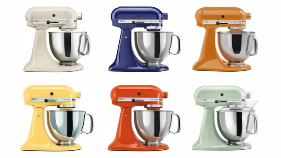 Get one of these stunning KitchenAid mixers are an equally gorgeous discounted price.