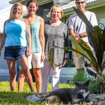 Cape Coral block comes together to care for beloved outdoor cat