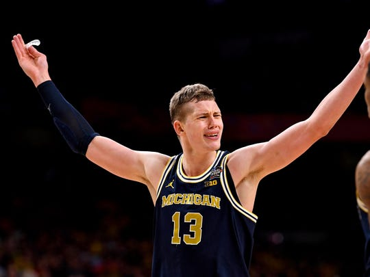 Former Michigan forward Mo Wagner could be a potential second-round pick for the Knicks.