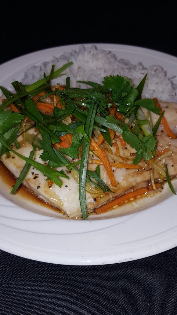 Guang Dong-style snapper will be one the menu at the next Florida Tech International Dinner on Jan. 12.