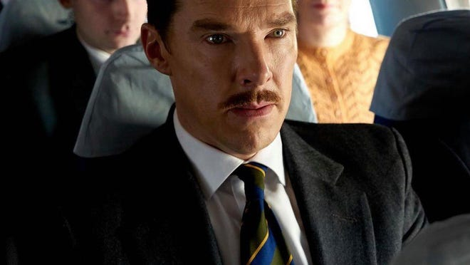 """Benedict Cumberbatch stars in """"The Courier,"""" which opens Friday at Queensgate Movies 13 and Hanover Movies 16."""