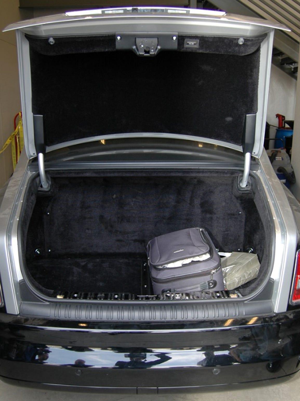 Inside the Phantom's trunk, where investigators found