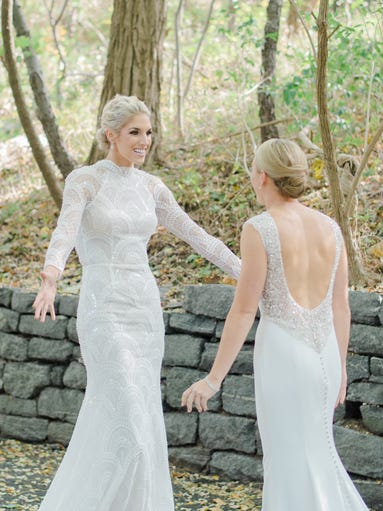 Elena Delle Donne & Amanda Clifton's Dream Wedding with The Knot