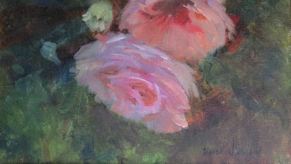 """Miracle Roses"" by Marge Heilman."