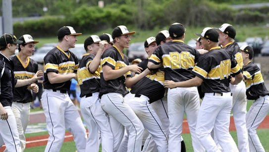 From 2016: The West Milford baseball team celebrates
