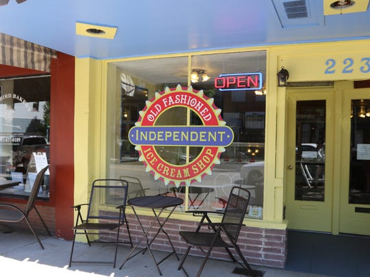 The Independent Ice Cream Shop opened in Independence