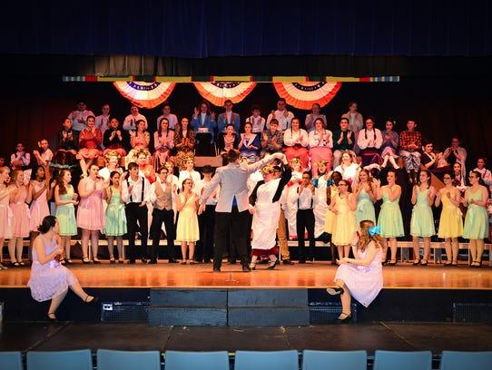 The Northern Lebanon Sr Choir presents Meredith Willson's-The