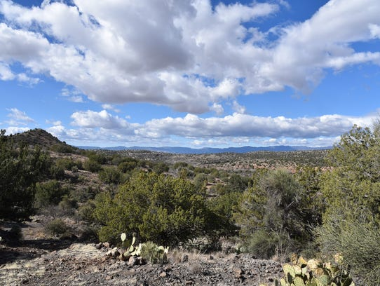 View from Chavez Trail