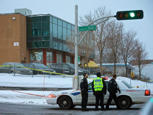 EPA CANADA QUEBEC CITY MOSQUE SHOOTING CLJ CRIME CAN QU