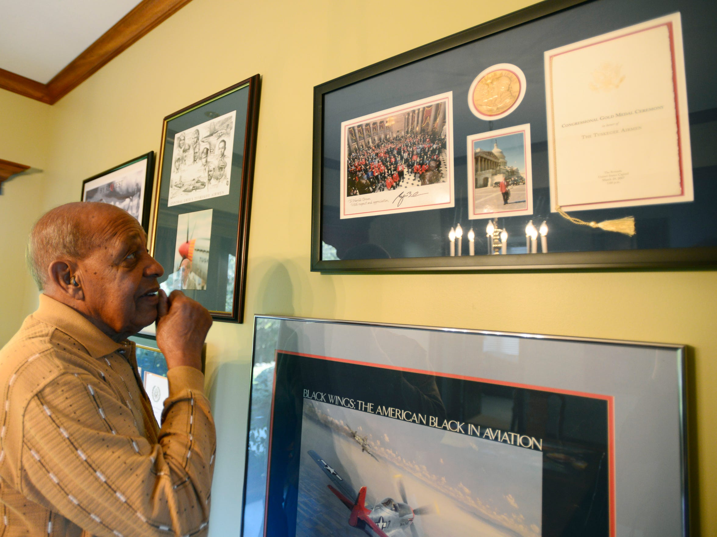 Harold H. Brown looks at the Congressional Gold Medal