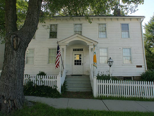 The Schuyler-Hamilton house is perhaps the best-known
