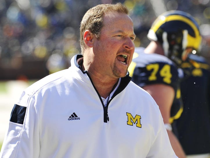 Michigan offensive coordinator Tim Drevno says the