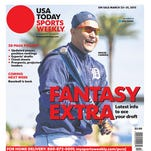 Miguel Cabrera is one of four cover subjects for USA TODAY Sports Weekly's annual fantasy extra issue.