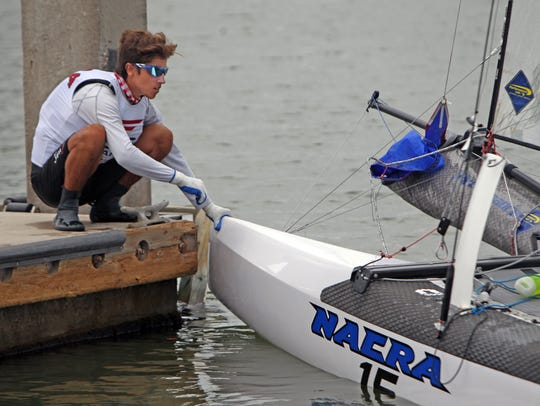 Between races, sailors from 66 nations will learn how