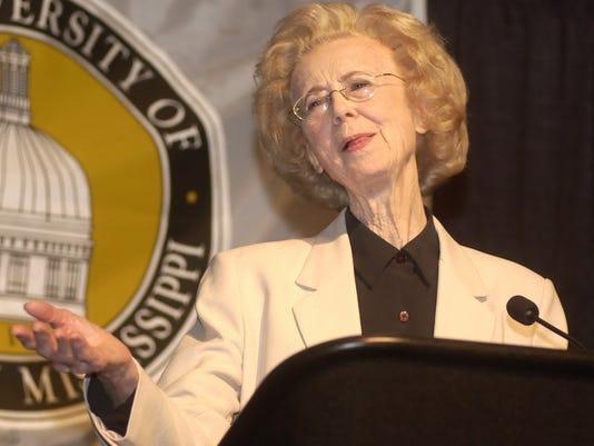 Former Lt. Gov. Evelyn Gandy