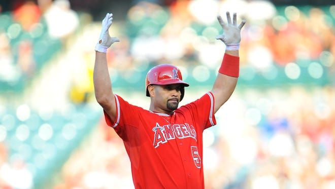 Before 2013, Albert Pujols averaged nearly 40 home runs and 120 RBI over his first 12 big-league seasons.